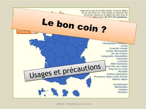 le bon coin usages et pr 233 cautions