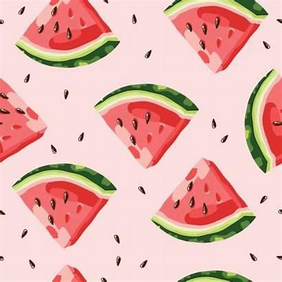 Watermelon Pattern Vector Illustration Clip Melon Clipart