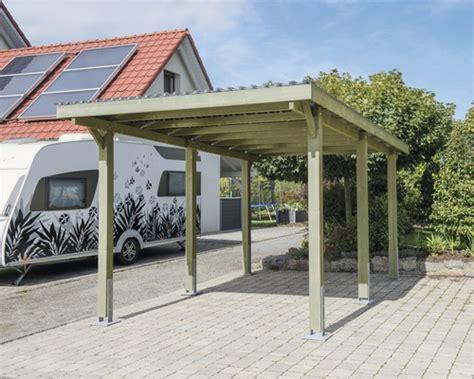 Einzelcarport Konsta Vertika Aluminiumdach, 301x504 Cm