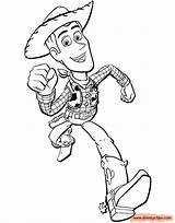 Woody Coloring Toy Disneyclips Toystory Printable Buzz Disney Pdf Running Funstuff sketch template