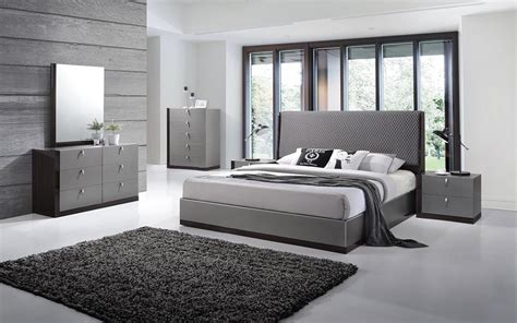 Contemporary European Style Bedroom Set Houston Texas J&m