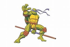 TMNT Donatello Vector