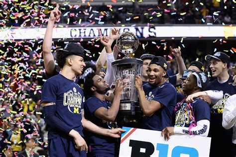 Michigan Big Ten Tournament Basketball 2017