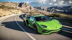 Lamborghini, Aventador, S, 2017, 4k, Wallpaper