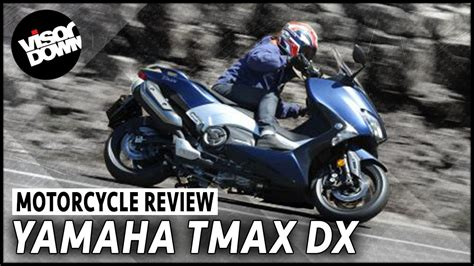 Review Yamaha Tmax Dx by Yamaha Tmax Dx Ride Review Visordown Motorcycle