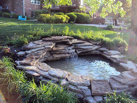 quiet cornerinspiring backyard pond ideas quiet corner