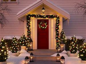 16, Outdoor, Christmas, Light, Wreath, U0026, Topiary, Decoration, Ideas, For, Holiday, Home, Decor