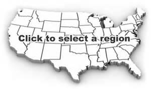 West Region Blank Map