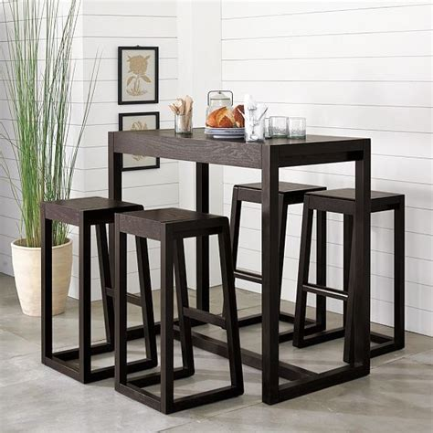 Alto Bar Table Modern Indoor Pub And Bistro Tables