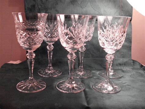 Galway Irish Crystal Sherry Glasses Set Of 6 Oranmore And