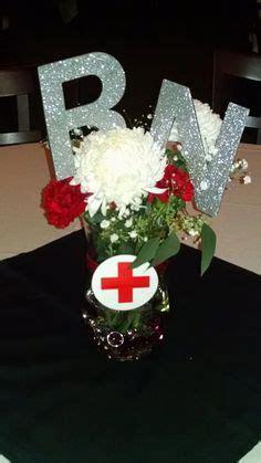 nurse theme party centerpieces crafty graduation