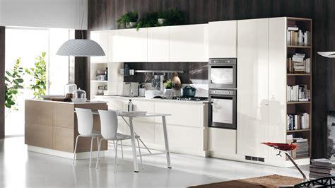 kitchen island on cucina contemporanea scenery sito ufficiale scavolini 5117