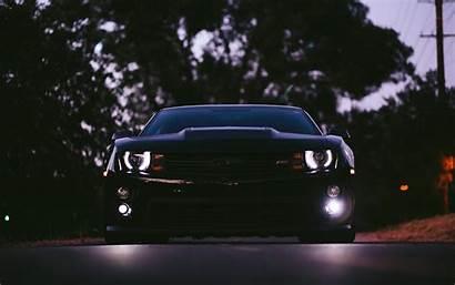 Camaro Ss Chevrolet Wallpapers Cars 4k Lights