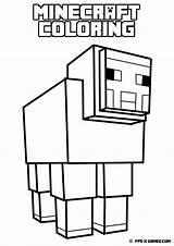 Minecraft Coloring Sword Pages sketch template