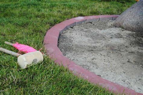 randsteine mit mähkante beton l steine setzen anleitung l steine setzen anleitung und tipps l steine mit lauenburger