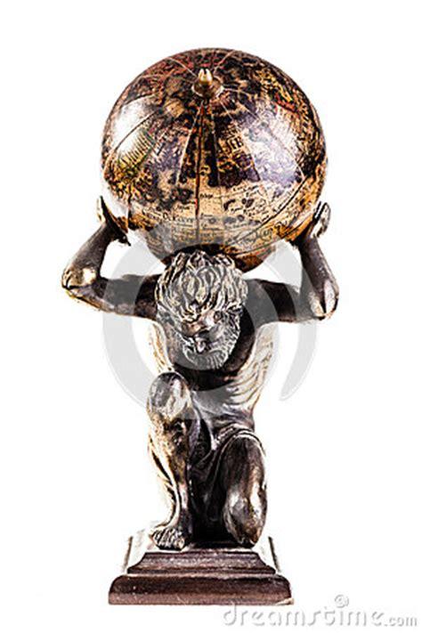 atlas globe royalty  stock  image