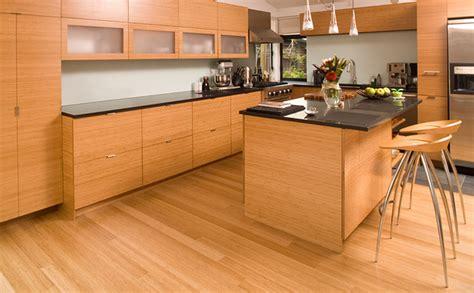 bamboo cabinet modern kitchen  metro