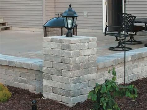 menards patio wall blocks block at menards