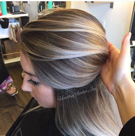 Brown Hair With Yellow Highlights by 25 Best Ideas About Ash Highlights On Ashy