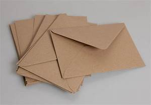 C6 Brown Kraft Envelopes pack of 50