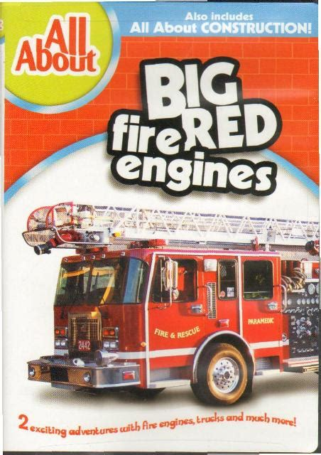 big red fire engines