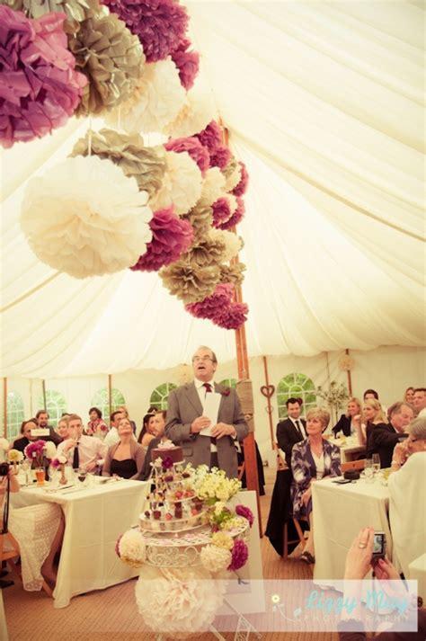 country wedding pom poms emergency prep
