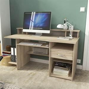 Pc Tisch Groß : schreibtisch computertisch b rotisch pc tisch 151cm eiche ~ Lizthompson.info Haus und Dekorationen