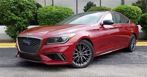 2018 Genesis G80 Sport First Drive Review