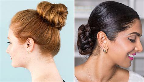 bun hairstyles   occasion
