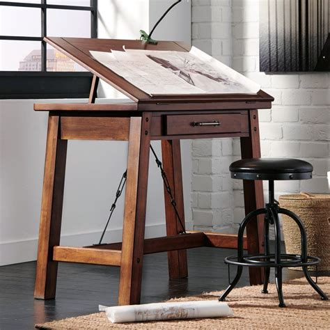 signature design  ashley shayneville counter height drafting desk drafting drawing tables