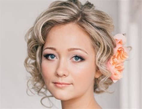 Bridal Hairstyles For Short Hair   SHE'SAID'