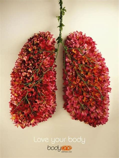 flower lungs   wordwang anatomy art flowers design