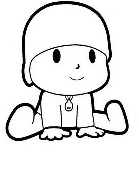 disegni da colorare semplici pocoyo semplici disegni da colorare per bambini disegni
