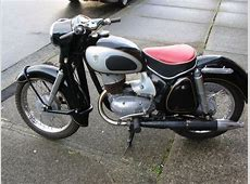 1958 DKW RT175 Classic Motorcycle Pictures