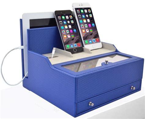 bureau valet charging valet office desk organizer electronics caddy