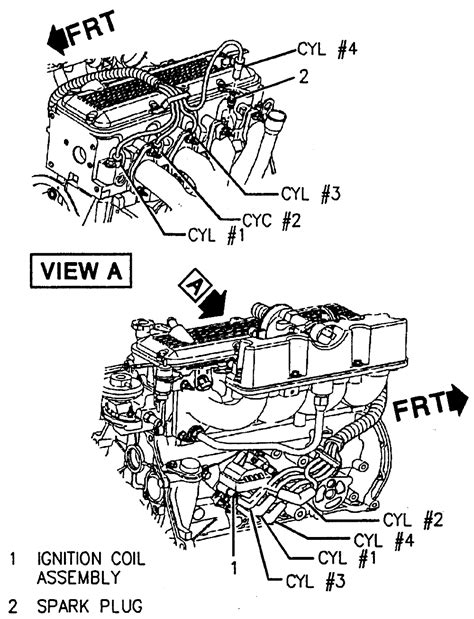 1996 Chevy Corsica Wiring Diagram by Repair Guides Routine Maintenance And Tune Up Spark