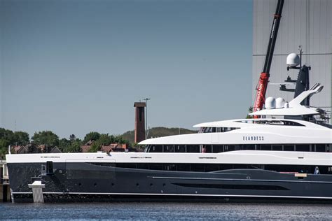 Yacht Elandess by Exclusive Abeking Rasmussen Launches 74 Metre