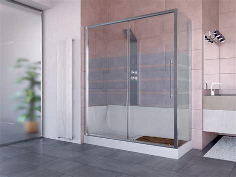 box vasca doccia trasformare vasca in doccia senza opere murarie economico