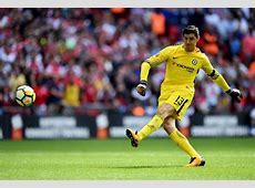 Thibaut Courtois scores a world class goal at Chelsea