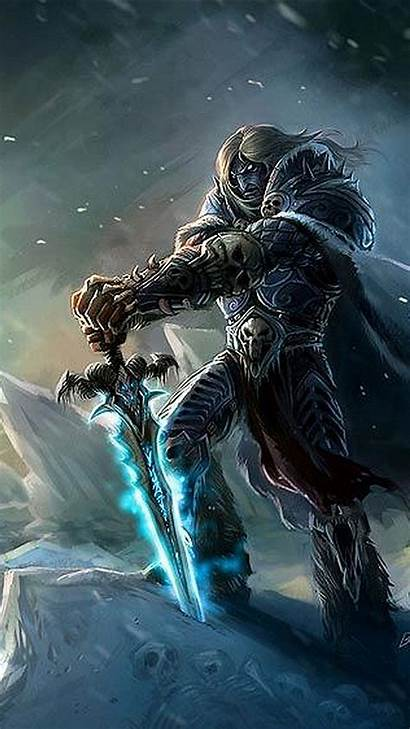 Warcraft Wow Phone Wallpapers Iphone Arthas Backgrounds
