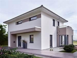 Hausfassade Weiß Anthrazit : stadtvilla modern einfamilienhaus concept m 145 von bien zenker fertighaus bauen haus ~ Markanthonyermac.com Haus und Dekorationen