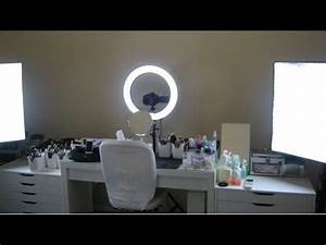 My Camera And Lighting Setup For Filming Makeup Videos
