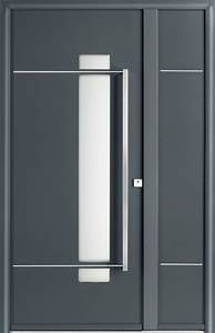 Porte D Entrée D Appartement : portes d 39 entr e aluminium glossy swao ~ Melissatoandfro.com Idées de Décoration
