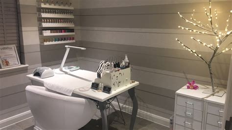 quick home nail salon  box room inspiration youtube