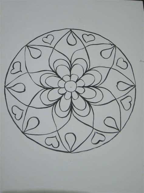 Easy to Draw Mandala Patterns