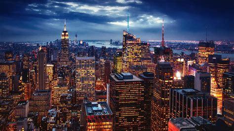 city  york city usa art night images wallpaper