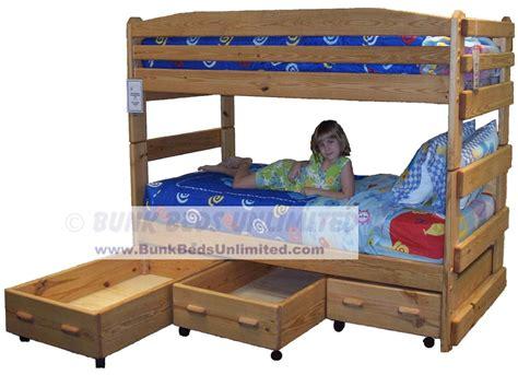 bunk bed plans bunk beds unlimited