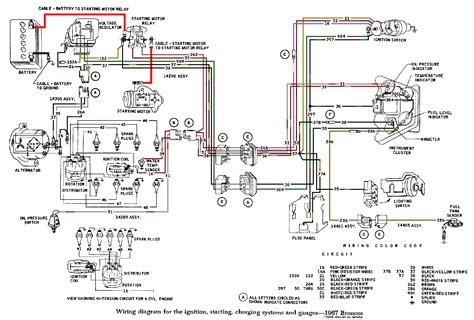 73 bronco headlight switch wiring diagram ford ignition