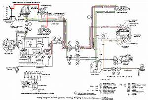 Early Bronco Ignition Switch Wiring Diagram