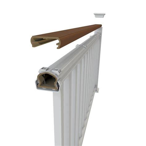 veranda  ft brazilian walnut decorative rail cover